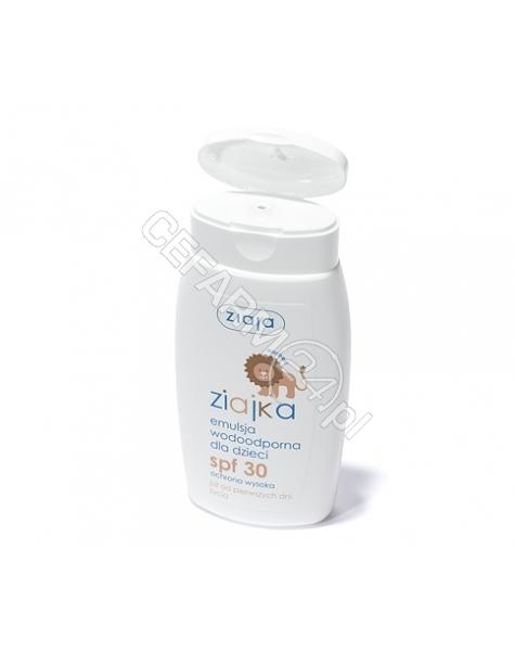 ZIAJA Ziaja ziajka słoneczna emulsja do opalania dla dzieci spf 30 125 ml