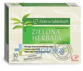 ZAKŁADY FARM. COLFARM Zielona Herbata 60 tabletek powlekanych