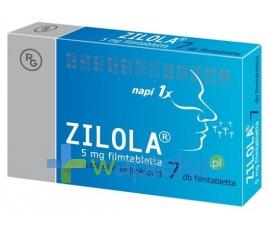 GEDEON RICHTER POLSKA SP.Z O.O. Zilola 5 mg 7 tabletek
