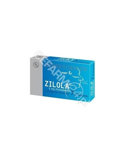 GEDEON RICHT Zilola 5 mg x 7 tabl powlekanych