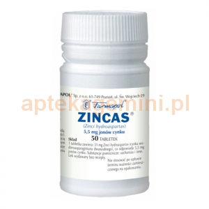 FARMAPOL SP. Z O.O. Z.CH.-F. Zincas 30mg 50 tabletek