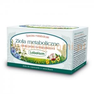 LABOFARM Zioła fix, Metaboliczne (przeciwtrądzikowe), 30 saszetek