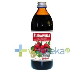 JARO-POL EKAMEDICA, KOZY Żurawina Sok 100% EkaMedica sok 500 ml