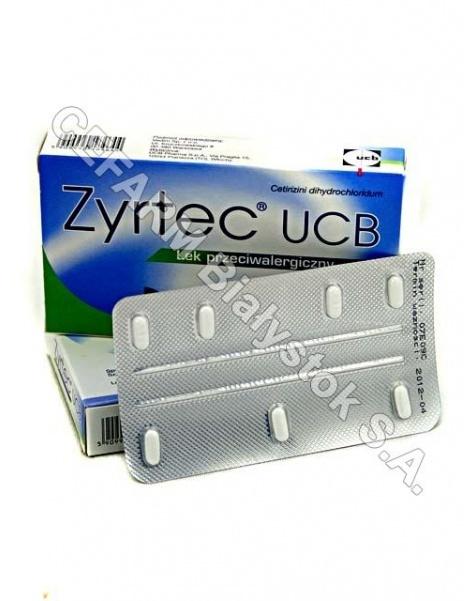 UCB Zyrtec 10 mg x 7 tabl