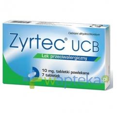 VEDIM SP.Z O.O. Zyrtec UCB 0,01 g 7 tabletek
